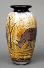 Rhino Vase