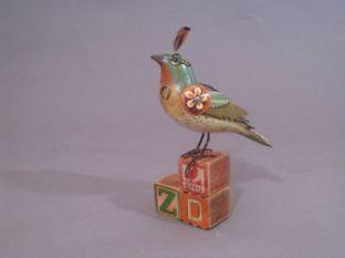 Three Letter Block Bird