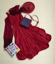 Relax with a book in this comfy, flowy dress