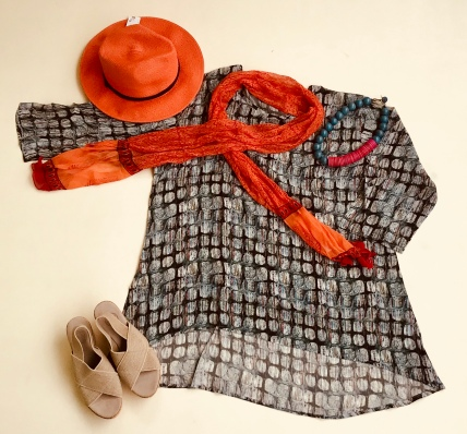 For the bon vivant: this outfit is pure sophistication!